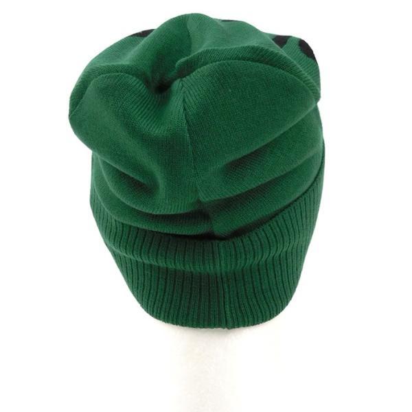 DIESEL ディーゼル ニット帽 ビーニー ニットCAP 帽子 ハット メンズ 00SYQW-0NABQ ロゴ ブランド 秋冬 カーキ F あすつく|museum8|05