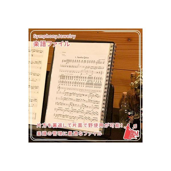 バンドファイル ブラック 20ポケット BandFile 楽譜ファイル 吹奏楽 BF-20  ミュージックアミューズ|music-amuse|06