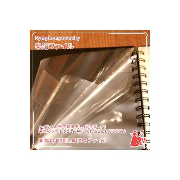バンドファイル ライトブルー 20ポケット BandFile 楽譜ファイル 吹奏楽 BF-20  ミュージックアミューズ music-amuse 05