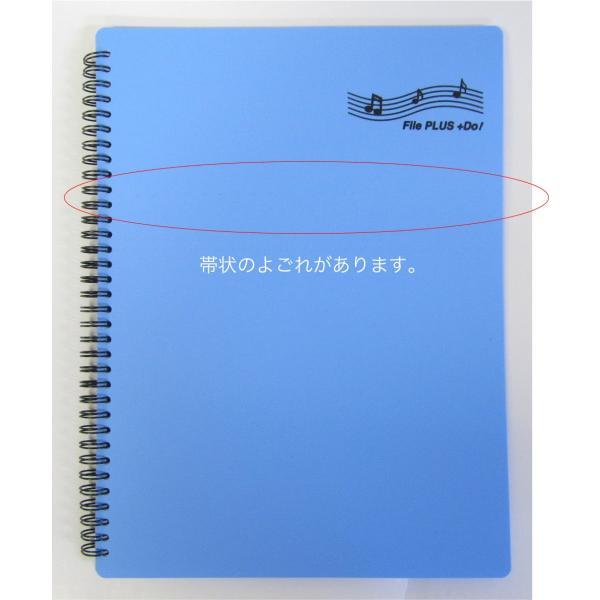 バンドファイル 楽譜ファイル 送料無料 アウトレット処分 30ポケット File PLUS +Do(A4、60ページ)  リング式 ファイルから出さずに書き込みOK|musicoffice|04