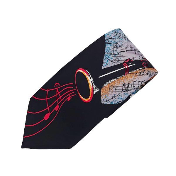 ネクタイ クラリネット ブラック msc necktie clrinet black