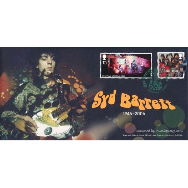 シドバレット Syd Barrett - Pink Floyd Syd Barrett Souvenir Cover (goods)
