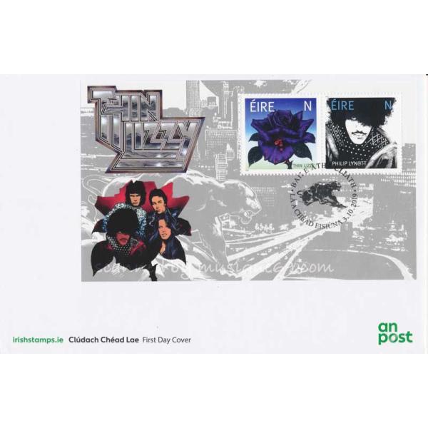 シンリジィ Thin Lizzy - Thin Lizzy FDC Miniature Sheet (goods)