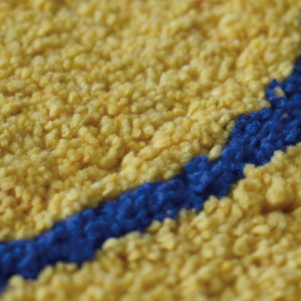 BLUESMILEラウンドマット ラウンドマット マット ラウンド 円形 スマイル 綿 コットン インド製|mustyle-kobe|04