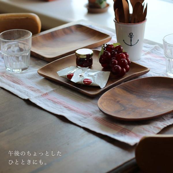 スクエアディッシュM アカシア 食器 プレート 木製 ナチュラル 北欧風 mustyle-kobe 02