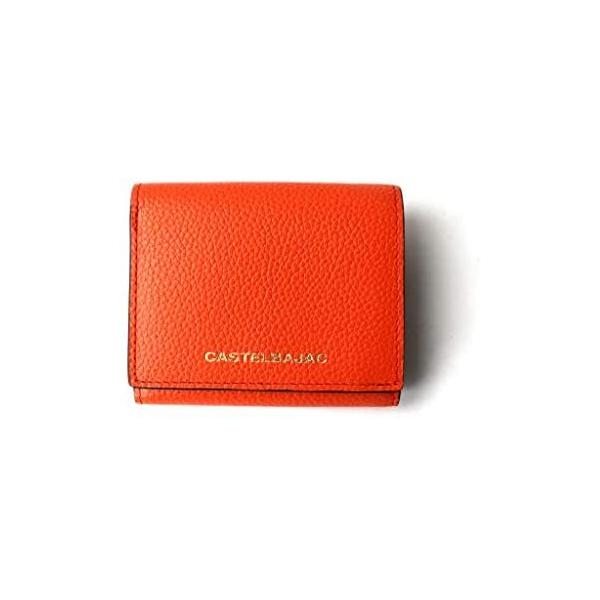 カステルバジャック(バッグ&ウォレット)(CASTELBAJAC)財布ミニ財布3つ折り31603(オレンジ**)