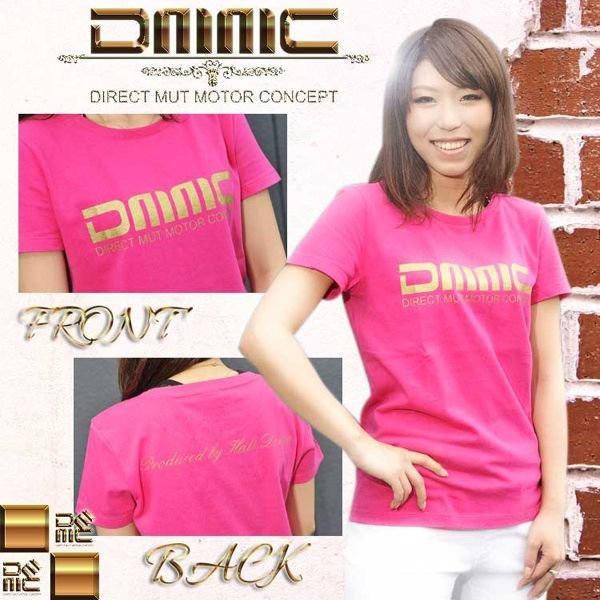 mut-DMMC オリジナルTシャツ(ホワイト)/インテリア/カー用品