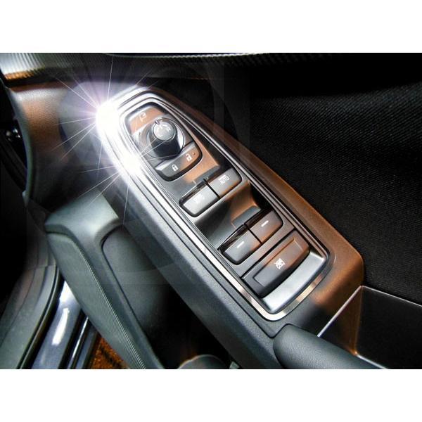 SUBARU スバル IMPREZA SPORT インプレッサ スポーツH29.10〜 専用 ドアスイッチトリム クローム調 4pcs