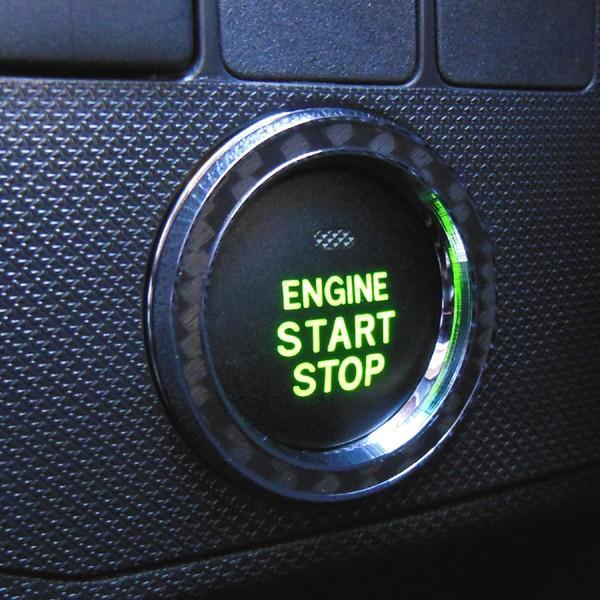 スバル IMPREZA SPORTS インプレッサスポーツ専用 スタートボタンリング(カーボンリング)・リングパーツ GP2 H23.12〜/インテリア