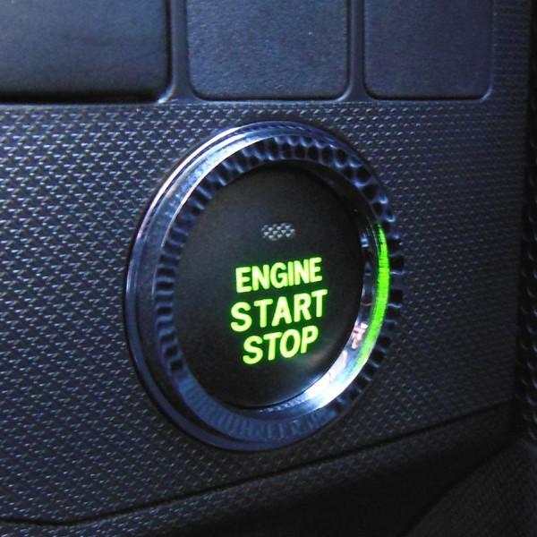 スバル IMPREZA XV Hybrid インプレッサXVハイブリット専用 スタートボタンリング(クロームリング) GPE H25.6〜/インテリア