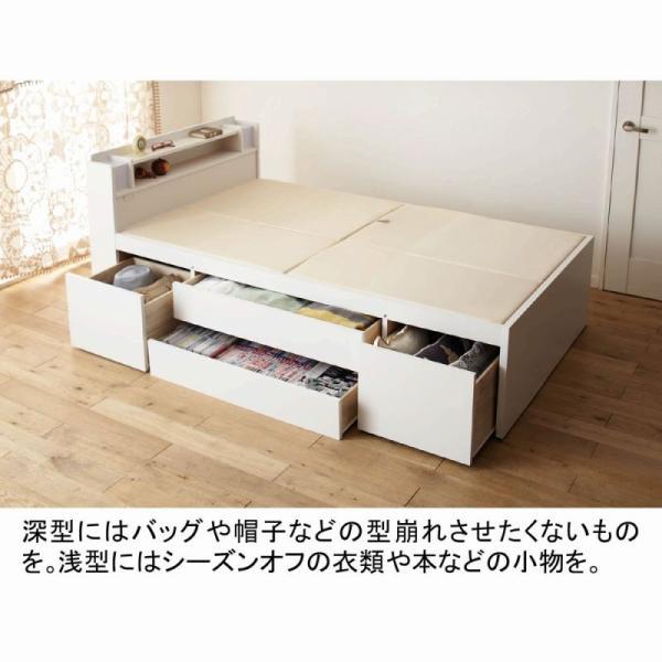 大量 収納ベッド VB A Aセミシングルショート( 大量収納 木製ベッド セミシングルベッド 引 送料無料!【大型】 mutow 04