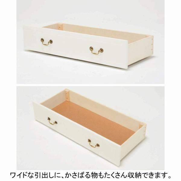 収納付クラシカルベッドV4 シングル  姫系ベッド シングルベッド 収納ベッド 引出し付ベッド 送料無料!【直送】 mutow 05