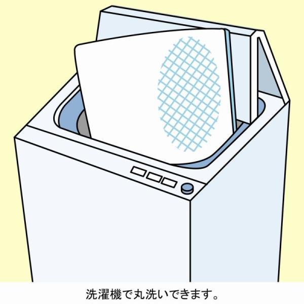 ラグ ウォッシャブルラグ QB45 185×185 送料無料!【直送】 mutow 04