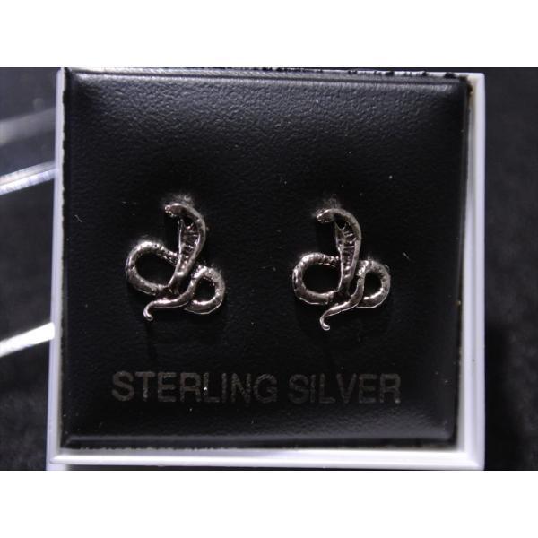 silver925 ピアス コブラ|my-friend-barney|02