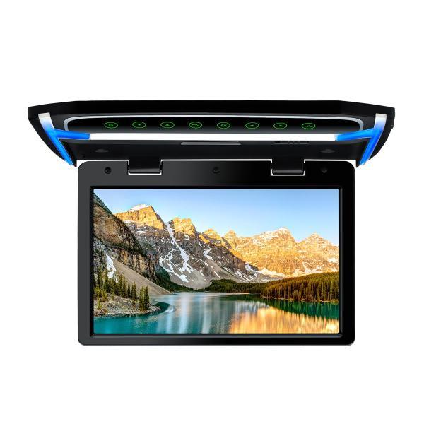 (CM101HD)XTRONS 10.2インチ フリップダウンモニター 1024x600 解像度 超薄 HDMI対応 1080Pビデオ対応 MP5対応 外部入力 ドア連動 水平開閉180度 USB・SD|mycarlife-jp|05