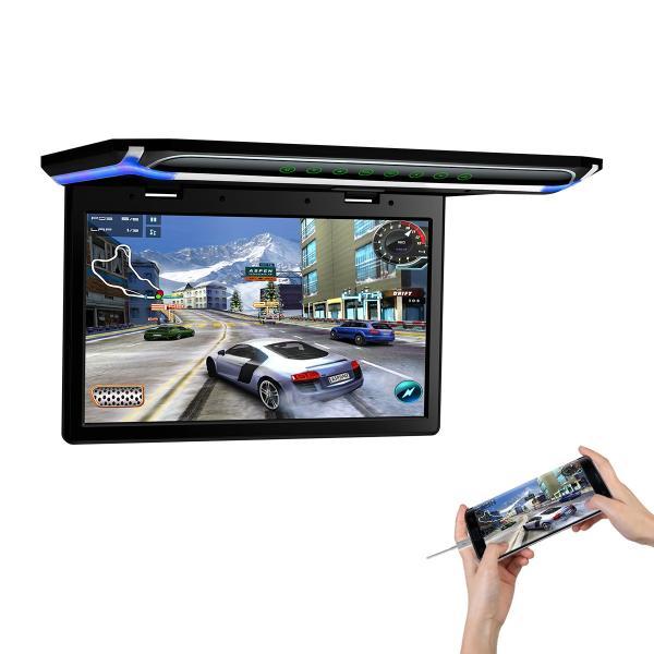 (CM156HD)XTRONS 15.6インチ 大画面 フリップダウンモニター 1920x1080 フルHD HDMI対応 1080Pビデオ対応 外部入力 ドア連動 水平開閉180度 USB・SD mycarlife-jp 06