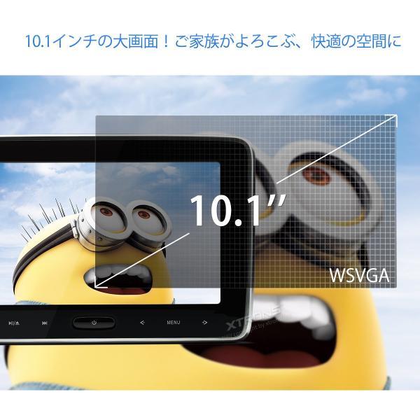 (HD107HD)10インチ大画面 WSVGA高画質 1080Pビデオ対応 ヘッドレスト DVDプレーヤーモニター スロットイン式 軽薄 取付0円 ゲーム HDMI・USB・SD 1個1セット|mycarlife-jp|03