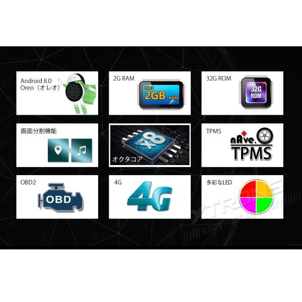 TE706PL) WIFI XTRONS 7インチ 8コアAndroid8 0 ROM32GB+RAM4GB