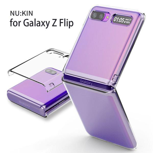 galaxy z flip3 ケース 【 Galaxy Z Flip 3 5G | Z Flip 5G ケース 】 araree Nu:kin クリアケース SCV47 SCG04 SCG12 SC-54B
