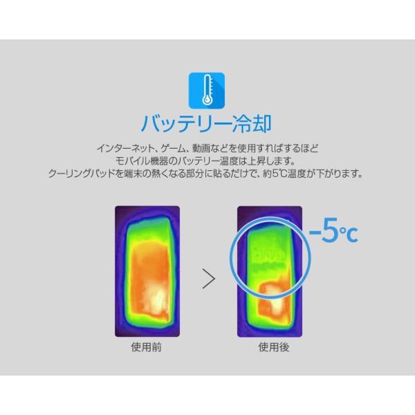 スマホ冷却シート motomo COOLING PAD(モトモ クーリング パッド)スマートフォン iPhone iPad Xperia Galaxy 熱 冷却シール|mycaseshop|04