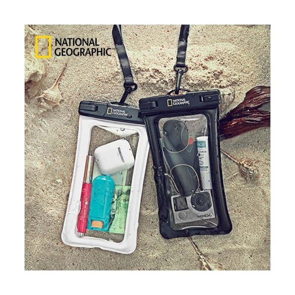ea8a22ec9d スマホ 防水ケース IPX8 4重ロック 完全防水 National Geographic(ナショナル ジオグラフィック) ...