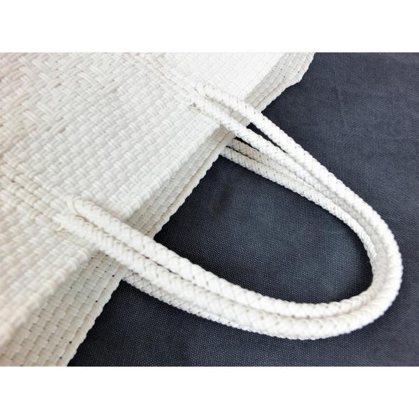かごバッグ Letra レトラ メルカドバッグ プラスチックトートバッグ Mサイズ 白