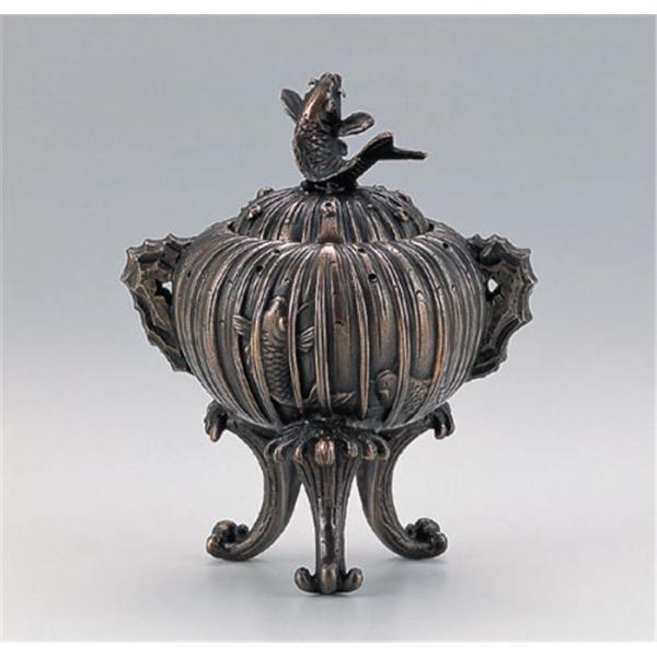 香炉 線香 線香立て 仏具 鯉の滝登り香炉 お香立て 仏壇用 お祝い 贈り物 置物 置き物 インテリア 贈り物 おしゃれ