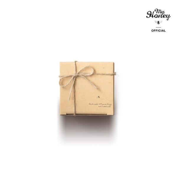 【MYHONEY公式】はちみつ ハチミツ マイハニー プレゼントギフトMYHONEYナチュラルクラフトボックス×麻紐リボン仕様 生はちみつ 贈り物 ギフト