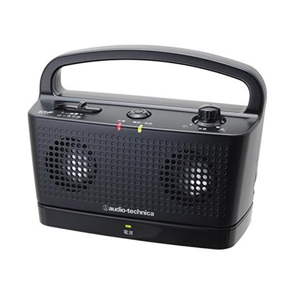 audio-technica 25%OFF SOUND ASSIST デジタルワイヤレスステレオスピーカーシステム BK AT-SP767TV ブラック 店