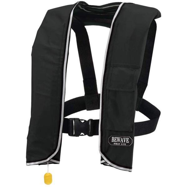 手動膨張式 ライフジャケット 肩掛式 オーシャンLG-3型 MI 国交省認定品 タイプA 検定品 フローティングベスト 桜マーク付 信頼 お気に入り 救命胴衣