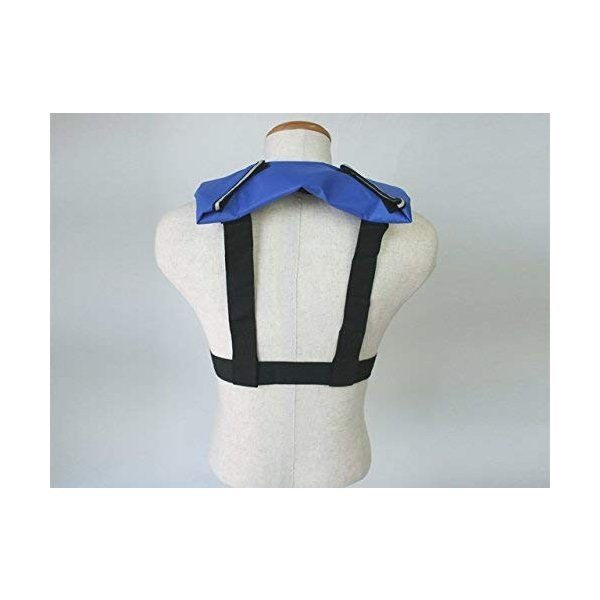 自動膨張式ライフジャケット 肩掛式 LG-1型ブルー 年中無休 国交省認定品 買物 胸囲150cmまで対応 新基準対応