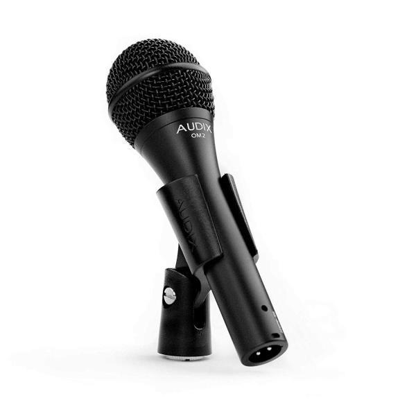 AUDIX ボーカル向け ラッピング無料 ハイパーカーディオイド 蔵 OM2国内正規品 ダイナミックマイク