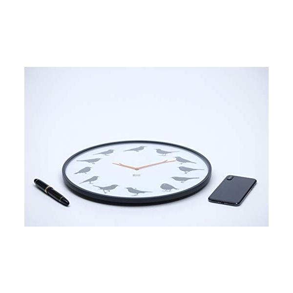 KOOKOO 販売実績No.1 クークー ウルトラ 売れ筋ランキング フラット モダンなデザイン 壁時計 時計 ヨーロッパ 光りセンサー 鳥のさえずり ソングバード 自然