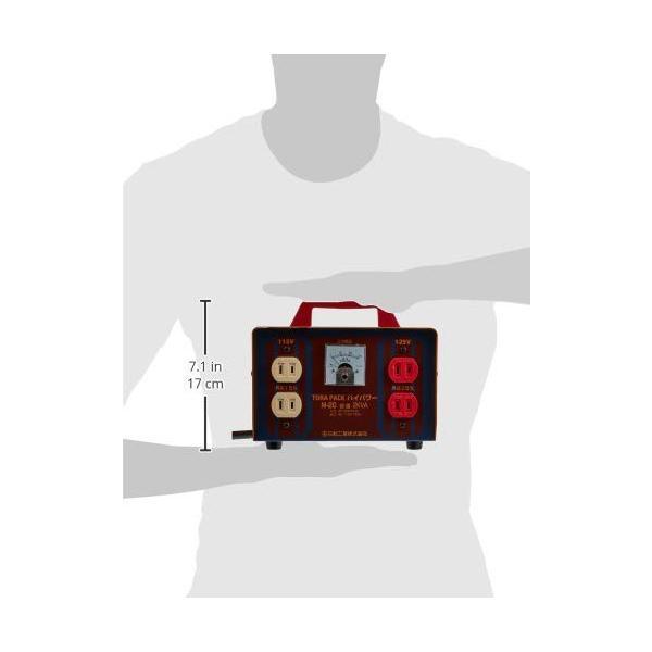 日動 変圧器 昇圧器ハイパワー 2KVA 125V 2芯タイプ M-20 直営店 100V-115 好評受付中
