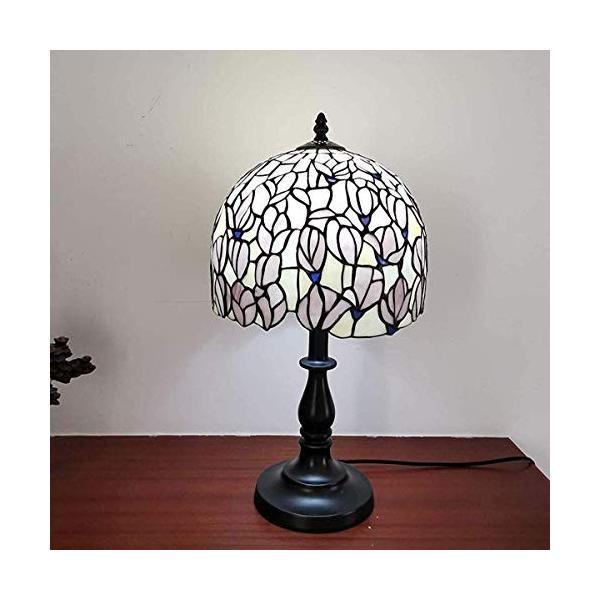 Bieye照明L10723 ベッドサイドランプ 新色追加して再販 ステンドグラスランプ インテリアライト 雰囲気ランプ セール商品 パンヤ 日式 テーブルランプ オシャレ