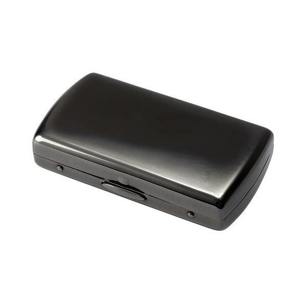 ヴィーナスベビー10(70mm) パール ブラックニッケル サテン 手巻きタバコ用 シガレットケース 70mm 手巻きタバコ Cigarette Case 1-11326-51