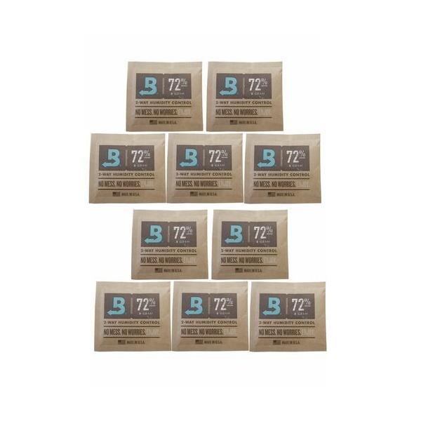 【boveda humidipak 72%】10個セット ボベダ 手巻きタバコ 煙草の湿度調整剤 ヒュミディパック ミニ 72% 保湿 1個単位 ヒュミドール 加湿器 JTI 日本たばこア…