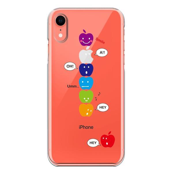 b93bc130d3 ... iPhoneXS/X iPhoneXs Max iPhoneXR ワイヤレス充電対応 アイフォン クリア 透明 スマホ ケース APPLE  FACE