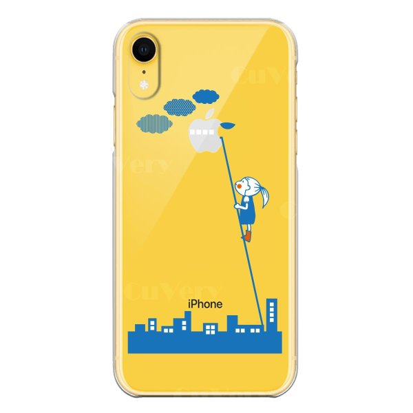 afe19b49fa ... iPhoneXS/X iPhoneXs Max iPhoneXR ワイヤレス充電対応 アイフォン クリア 透明 スマホ ケース UFO 未確認  ...