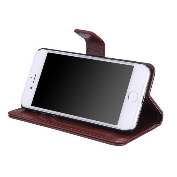 在庫処分 iPhone X ケース 手帳型 iPhone 7 / 8 カバー iPhone8 / iPhone7 Plus スタンド機能 カード収納 Xperia XZ1 Compact 保護ケース Galaxy Note8 S8 Plus|mytonya|05