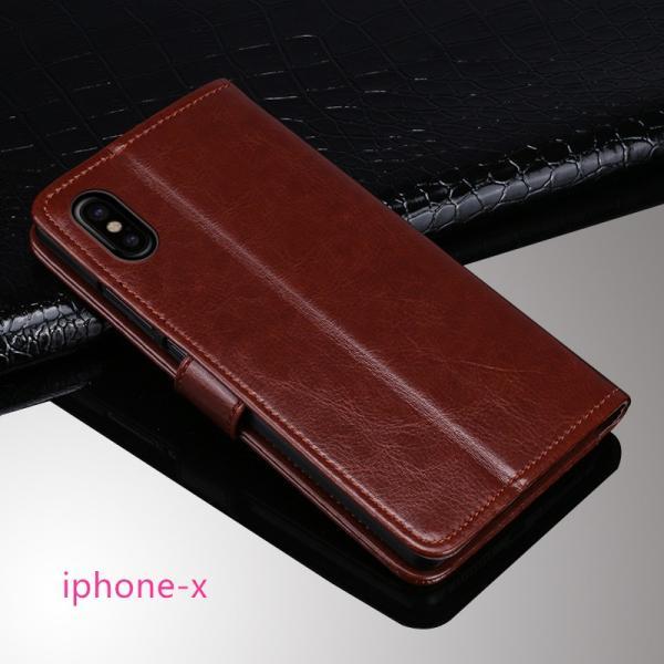 在庫処分 iPhone X ケース 手帳型 iPhone 7 / 8 カバー iPhone8 / iPhone7 Plus スタンド機能 カード収納 Xperia XZ1 Compact 保護ケース Galaxy Note8 S8 Plus|mytonya|08