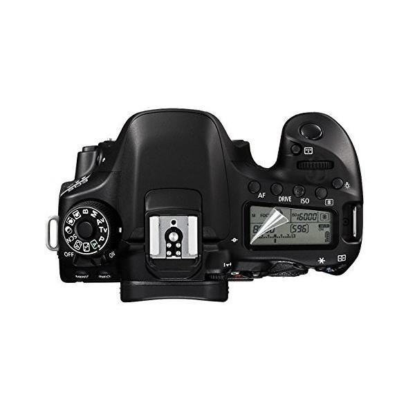 【送料無料】Canon EOS 70D 80D フィルム 2枚セット 液晶保護フィルム 液晶モニター 表示パネル 画面保護 自己吸着 コーティング スクリーンシート mywaysmart 02