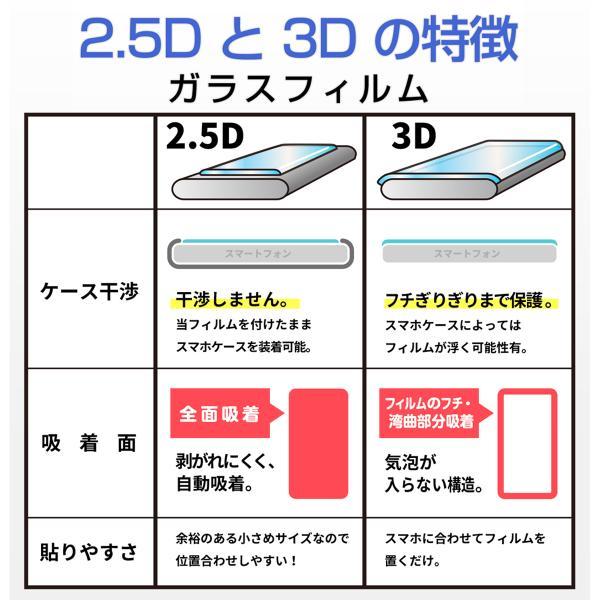 Xperia ガラス フィルム Xperia5 全面 エクスペリア Ace XZ3 XZ2 XZ XZ1 Premium Compact 保護 気泡 ゼロ 画面 3D エッジ 硬度 クリア|mywaysmart|11
