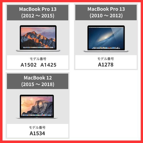 MacBook Pro 13.3 Retina フィルム ディスプレイ 13.3インチ Late 2012モデル ~ Early 2015年モデル ( A1425 / A1502 ) 画面 Apple クリア/ ポイント消化|mywaysmart|04