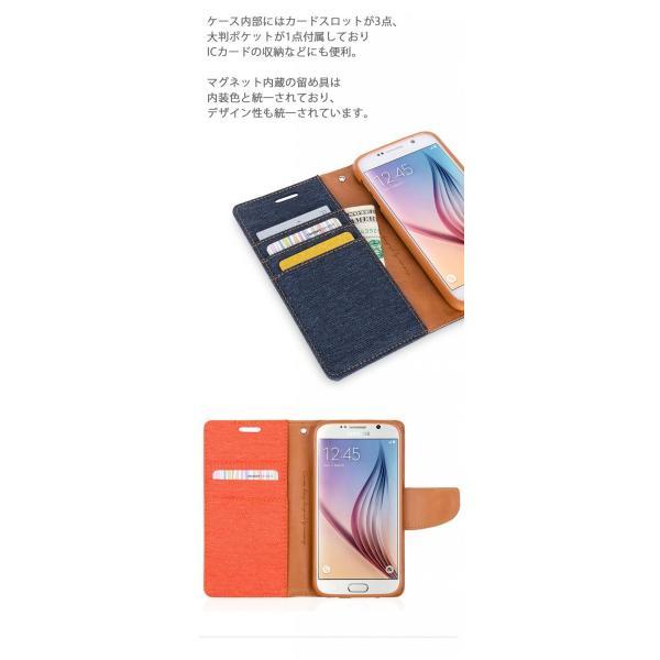Galaxy S10 ケース デニム Note9 スマホ 手帳型 カバー S9+ Note8 S8+ S8 S7 edge S6 edge iPhone7 カード スタンド TPU S10+【送料無料】ポイント還元|mywaysmart|06