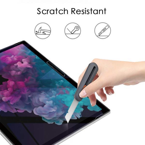 Microsoft Surface pro 6 フィルム ガラスフィルム ケースに干渉しない 9H 高硬度 高級 ガラス タブレット サーフェイス プロ 12.3|mywaysmart|02
