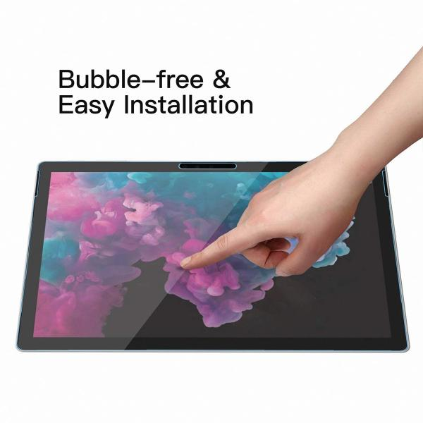 Microsoft Surface pro 6 フィルム ガラスフィルム ケースに干渉しない 9H 高硬度 高級 ガラス タブレット サーフェイス プロ 12.3|mywaysmart|04