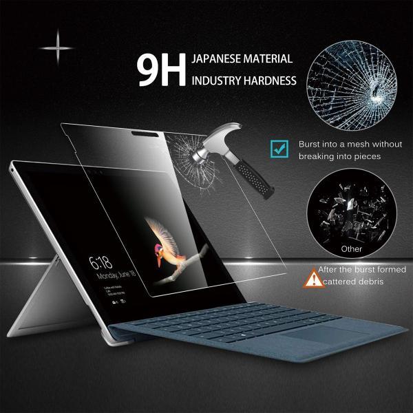 Microsoft Surface pro 6 フィルム ガラスフィルム ケースに干渉しない 9H 高硬度 高級 ガラス タブレット サーフェイス プロ 12.3|mywaysmart|08