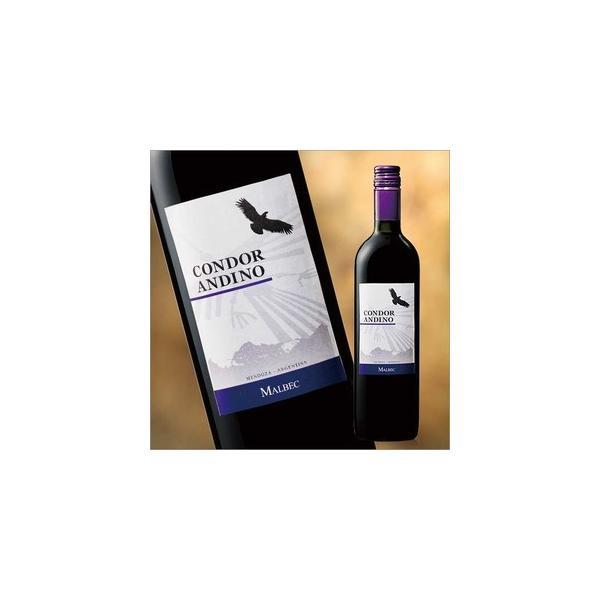 ワイン 赤 コンドール アンディーノ マルベック 750ml  赤ワイン フルボディ