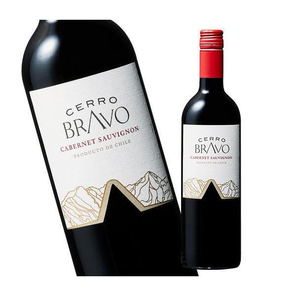ワイン 赤 セロ・ブラヴォ・カベルネ・ソーヴィニヨン750ml 赤ワイン フルボディ チリ